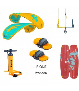 PACK F ONE ONE + BOARD ET EQUIPEMENT + POMPE + BARRE