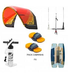 PACK CABRINHA FX 10 + F ONE TRAX HRD LITE TECH + POMPE + BARRE