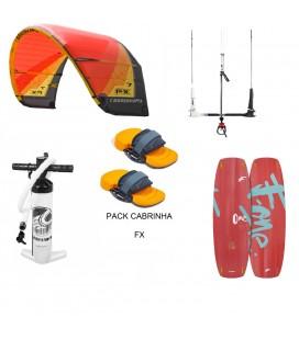 PACK CABRINHA FX 10 + F ONE ONE + POMPE + BARRE