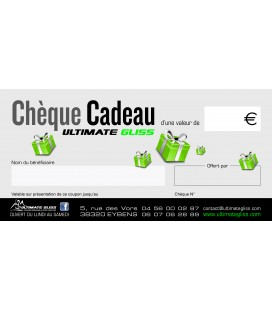 CHEQUE CADEAU ULTIMATE GLISS