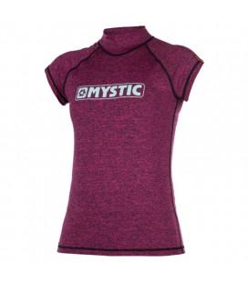 MYSTIC STAR S/S RASHVEST WOMEN PINK