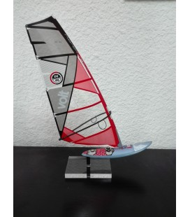 MINIATURE WINDSURF NORTH SAILS VOLT + FANATIC