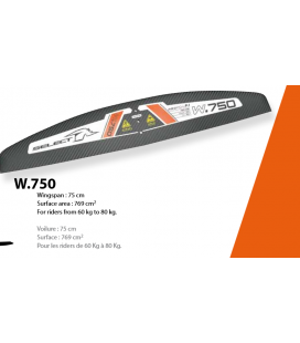 SELECT WING SET 750.PRO