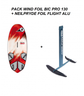 PACK WIND FOIL BIC  PRO 130 + NEILPRYDE FLIGHT ALU FOIL 2019