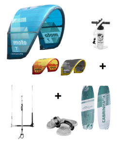 PACK KITE SURF CABRINHA MOTO + SPECTRUM 2019