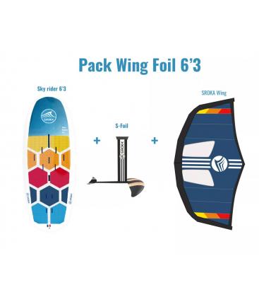 SROKA PACK WING FOIL RIDER 6'3