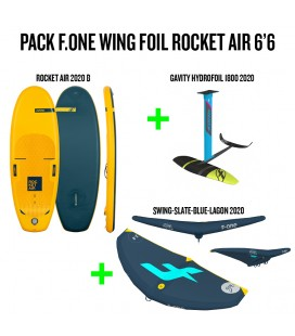 PACK F-ONE WING FOIL ROCKET AIR 6'6